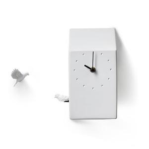 쿠쿠 홈)벽시계_라이트 그레이